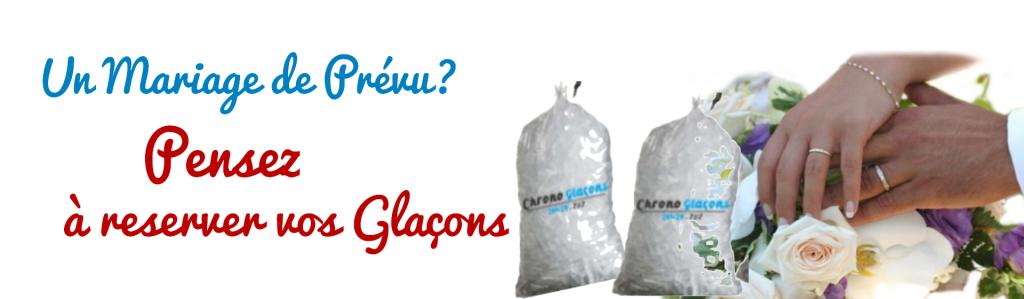 un mariage parfait avec des glacons bien frais - chrono glacons livraison de glacons paris
